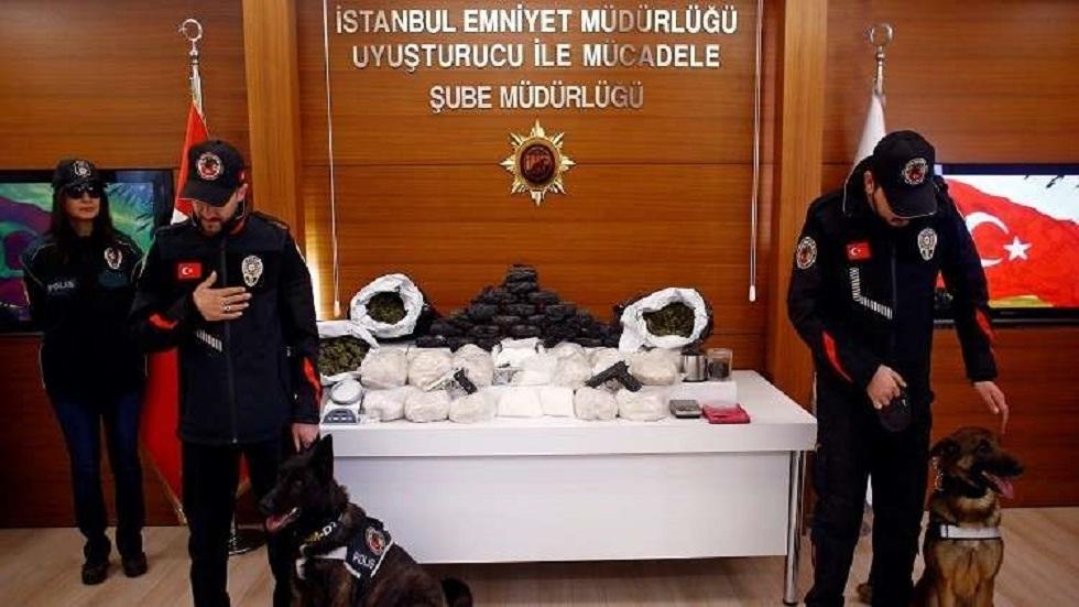 شرطة مكافحة المخدرات التركية - أرشيف