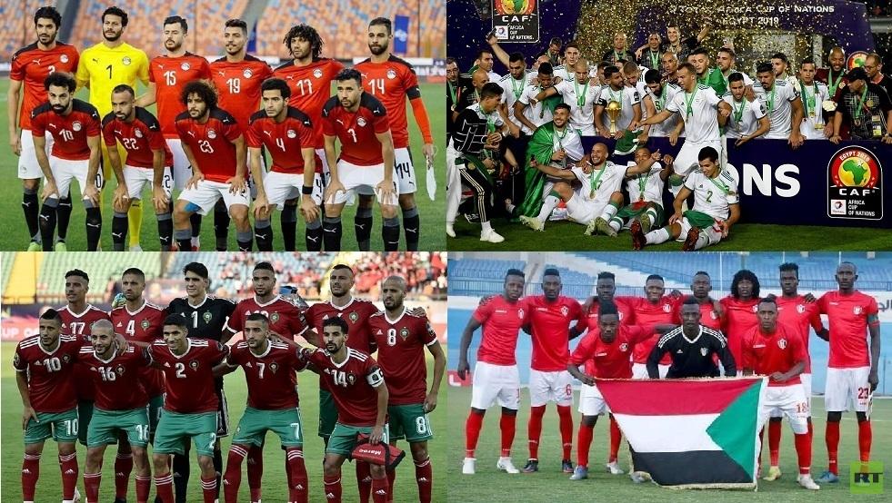 قائمة المنتخبات المتأهلة لكأس أمم إفريقيا 2021 منها 7 عربية (فيديو)
