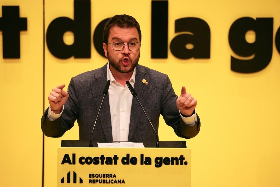 السياسي الإسباني الانفصالي بيري أراغونيس