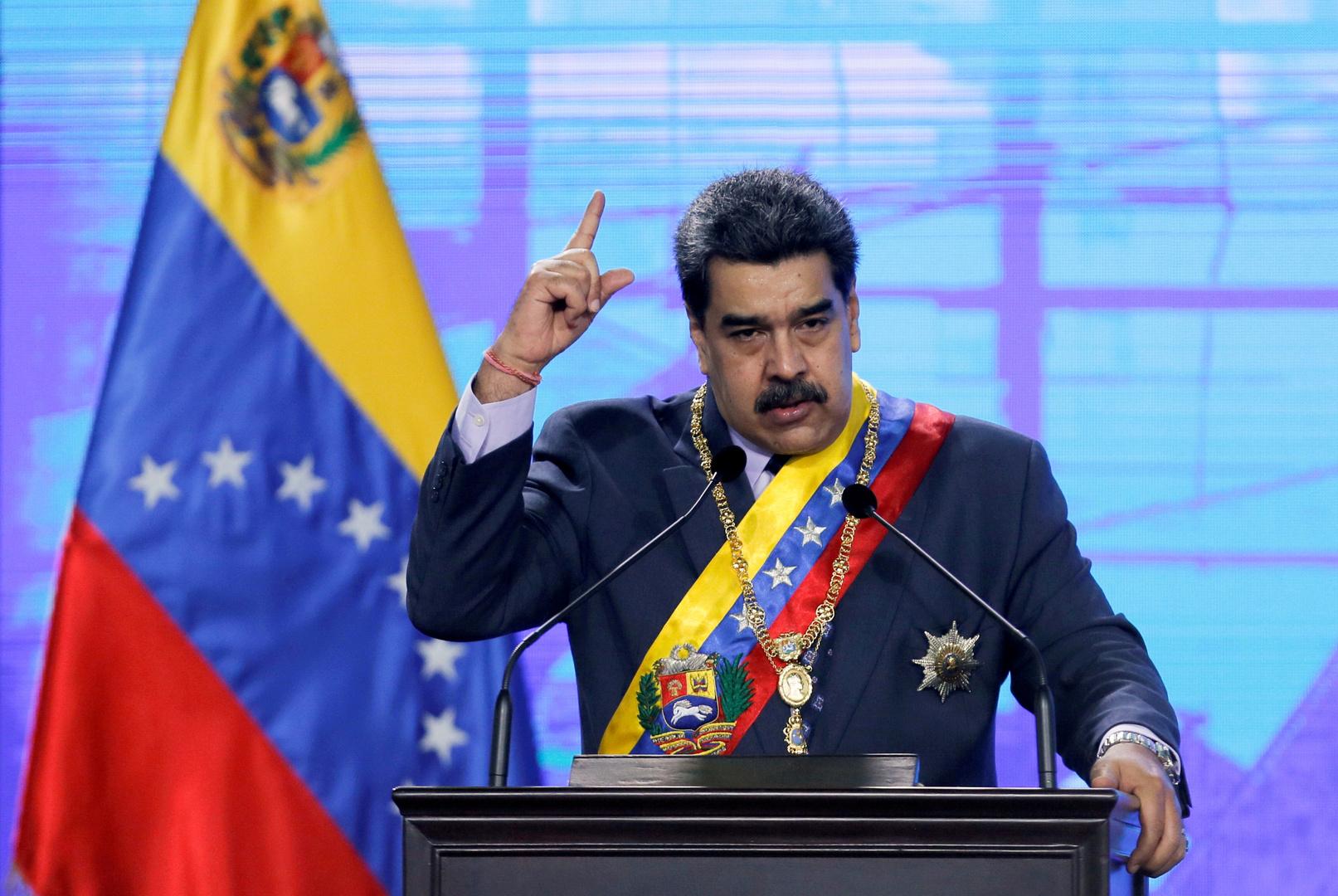 مادورو: الدول الغربية تهاجم اللقاح الروسي بسبب الحسد