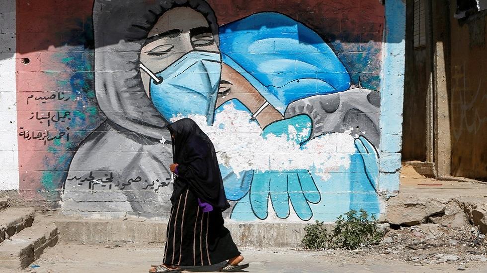 غزة.. اكتشاف إصابات بطفرة كورونا البريطانية
