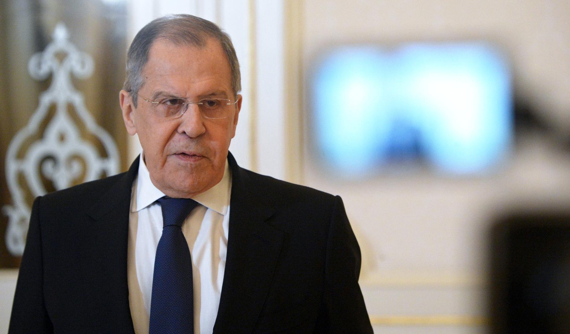 لافروف: الغرب يستخدم بحق روسيا والصين أساليب عقابية تنتهك معايير التجارة العالمية