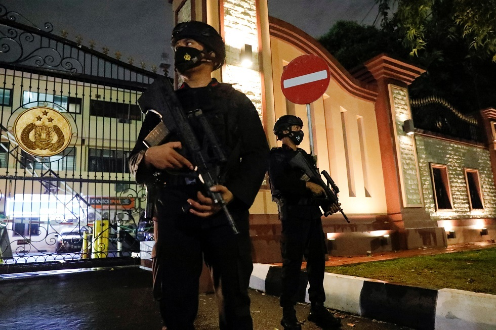 الشرطة الإندونيسية: المرأة التي نفذت الهجوم على مقرّنا من أتباع تنظيم