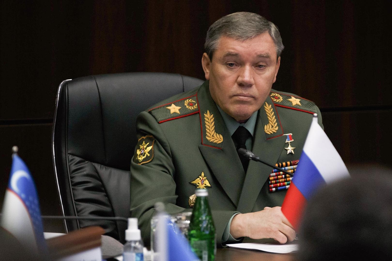رئيسا الأركان الروسي والأمريكي يبحثان هاتفيا