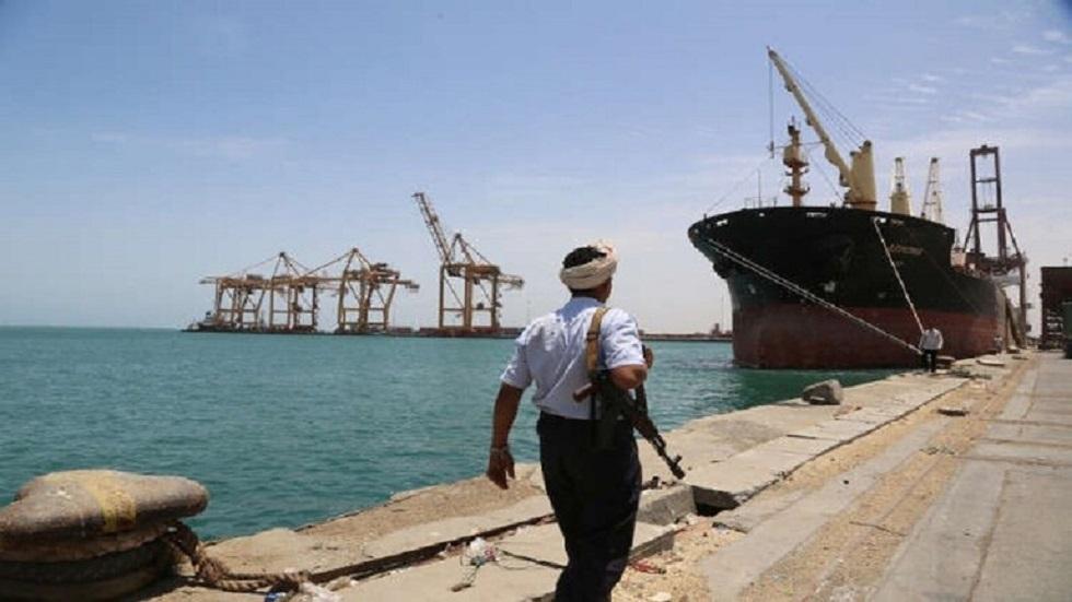 ميناء الحديدة اليمني - أرشيف