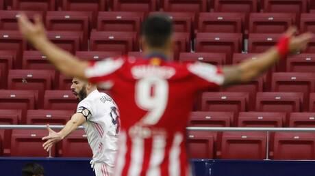 """ريال مدريد ينجو من الهزيمة في """"الديربي"""" بهدف قاتل (فيديو)"""