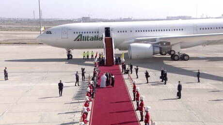 Pope Francis leaves Baghdad after a historic 3-day visit to Iraq