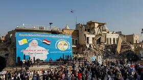 البابا فرنسيس يصل مدينة الموصل في زيارة