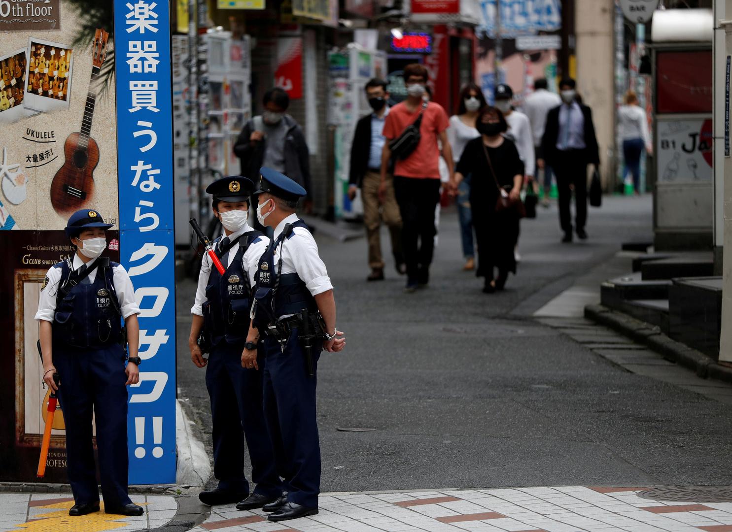 اليابان تعلن إجراءات طارئة في منطقة أوساكا لاحتواء فيروس كورونا