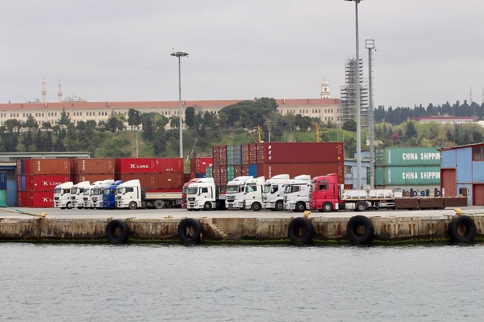 حاويات سلع تركية
