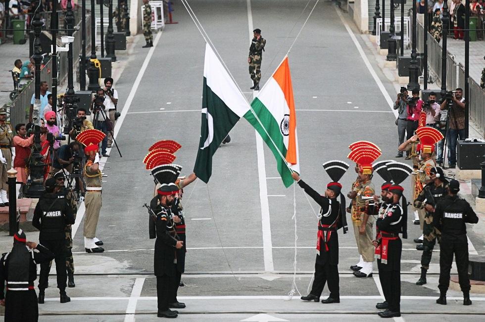 استعراضات هندية باكستانية -أرشيف-