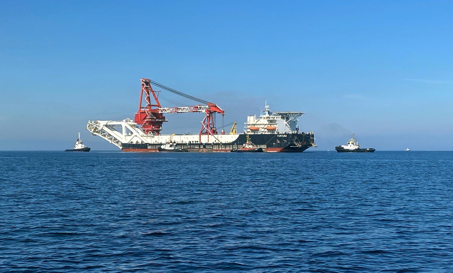 القوات البحرية البولندية تنفي الاتهامات بعرقلة بناء