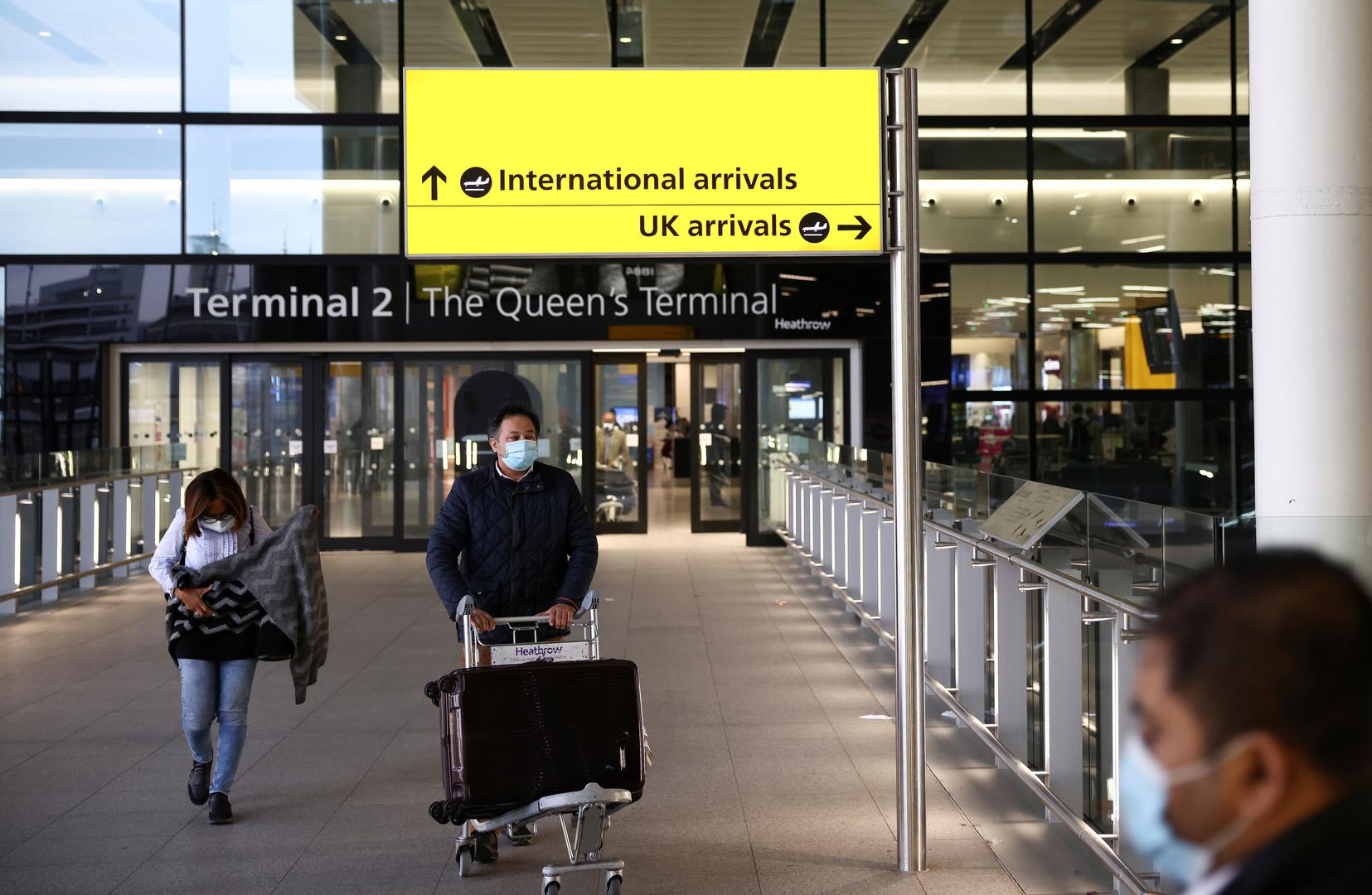 بريطانيا تضيف أربع دول جديدة إلى قائمة حظر السفر إليها
