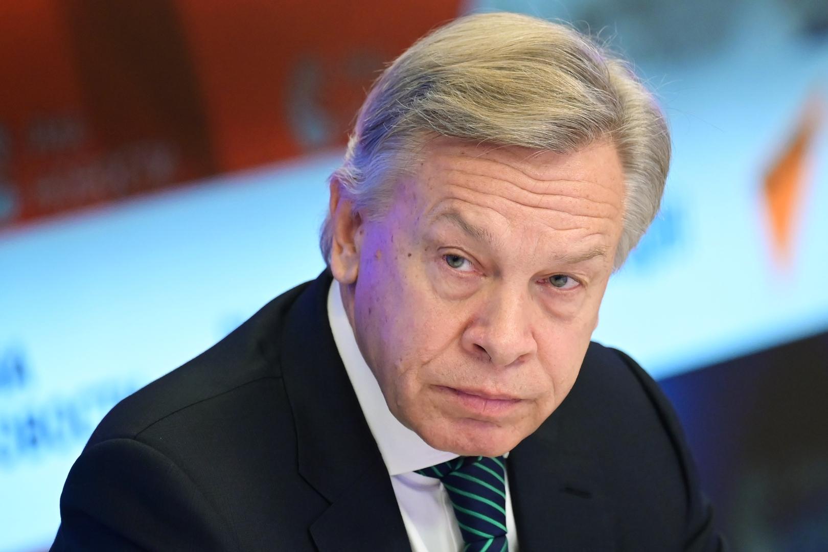 عضو مجلس الاتحاد الروسي أليكسي بوشكوف