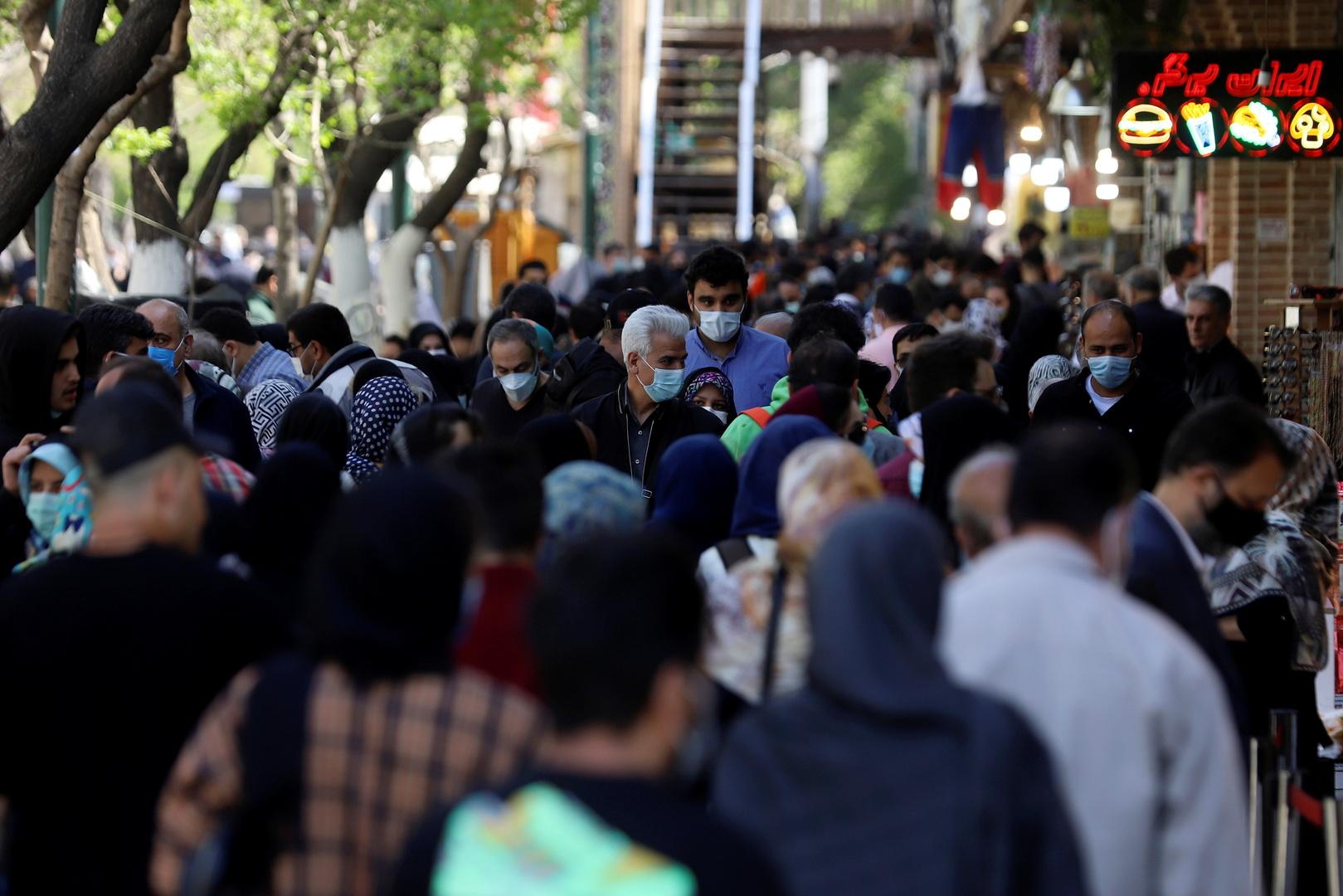 إيران تعلن عن بدء الموجة الرابعة من جائحة كورونا