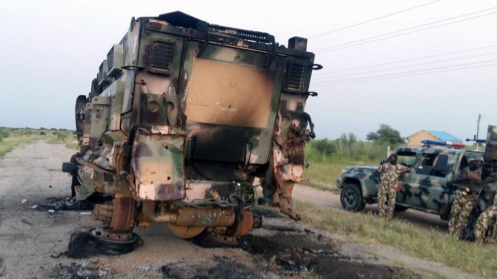 مقتل 14 شخصا بهجوم مسلح في نيجيريا