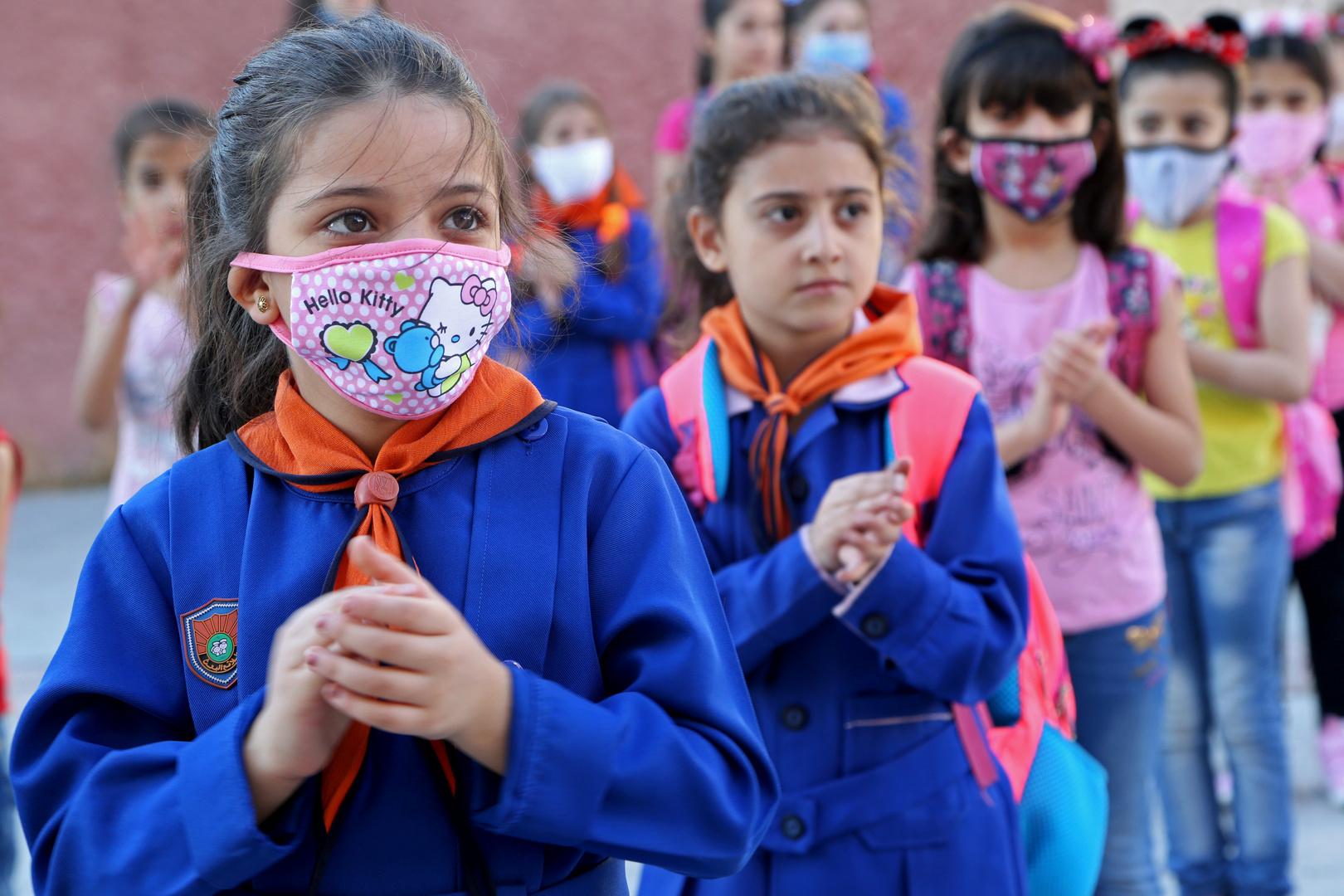 تعليق الدوام في بعض الصفوف المدرسية السورية