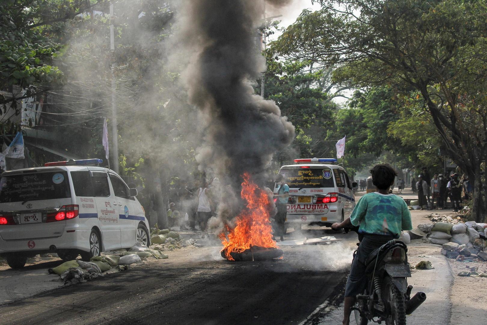 نشطاء: حصيلةضحايا عنفالانقلابيين في ميانمار تجاوزت 550 قتيلا