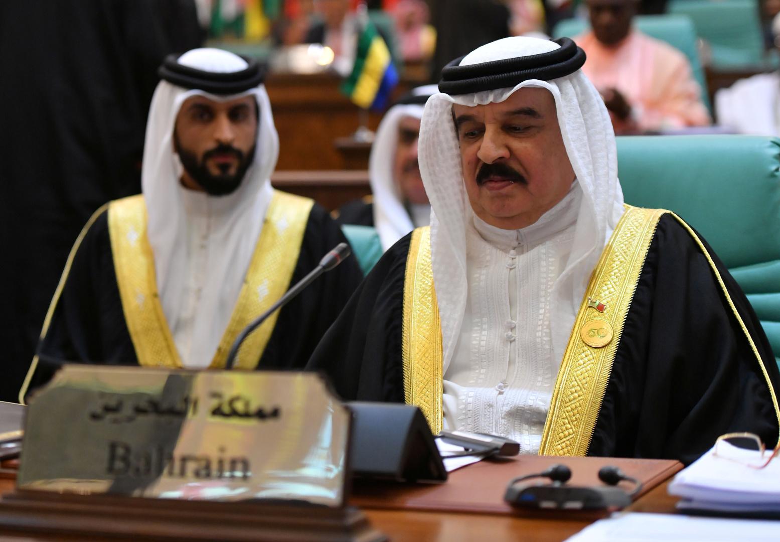 العاهل البحريني، الملك حمد بن عيسى آل خليفة.