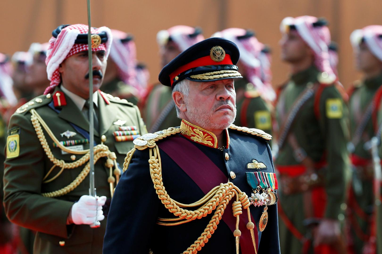تضامن عربي ودولي مع العاهل الأردني في
