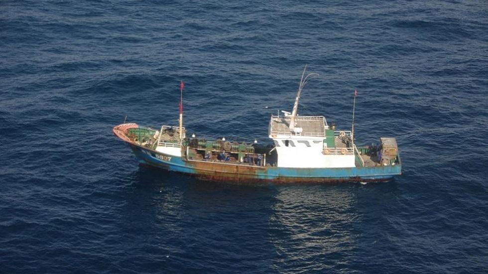 قارب صيد صيني (صورة من الأرشيف)
