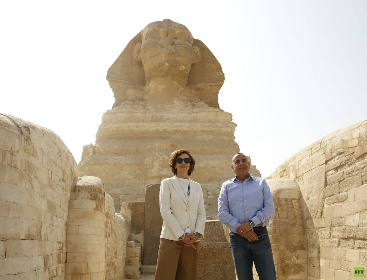 المديرة العامة لليونسكو تزور القاهرة التاريخية ومنطقتي آثار سقارة وأهرامات الجيزة (صور)