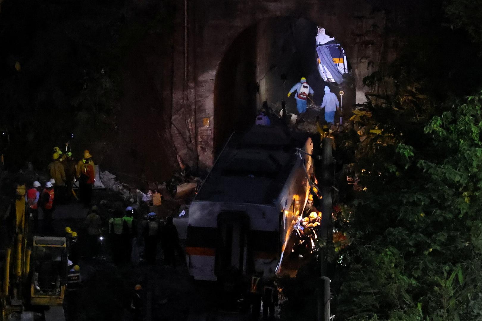 حادث القطار في تايوان