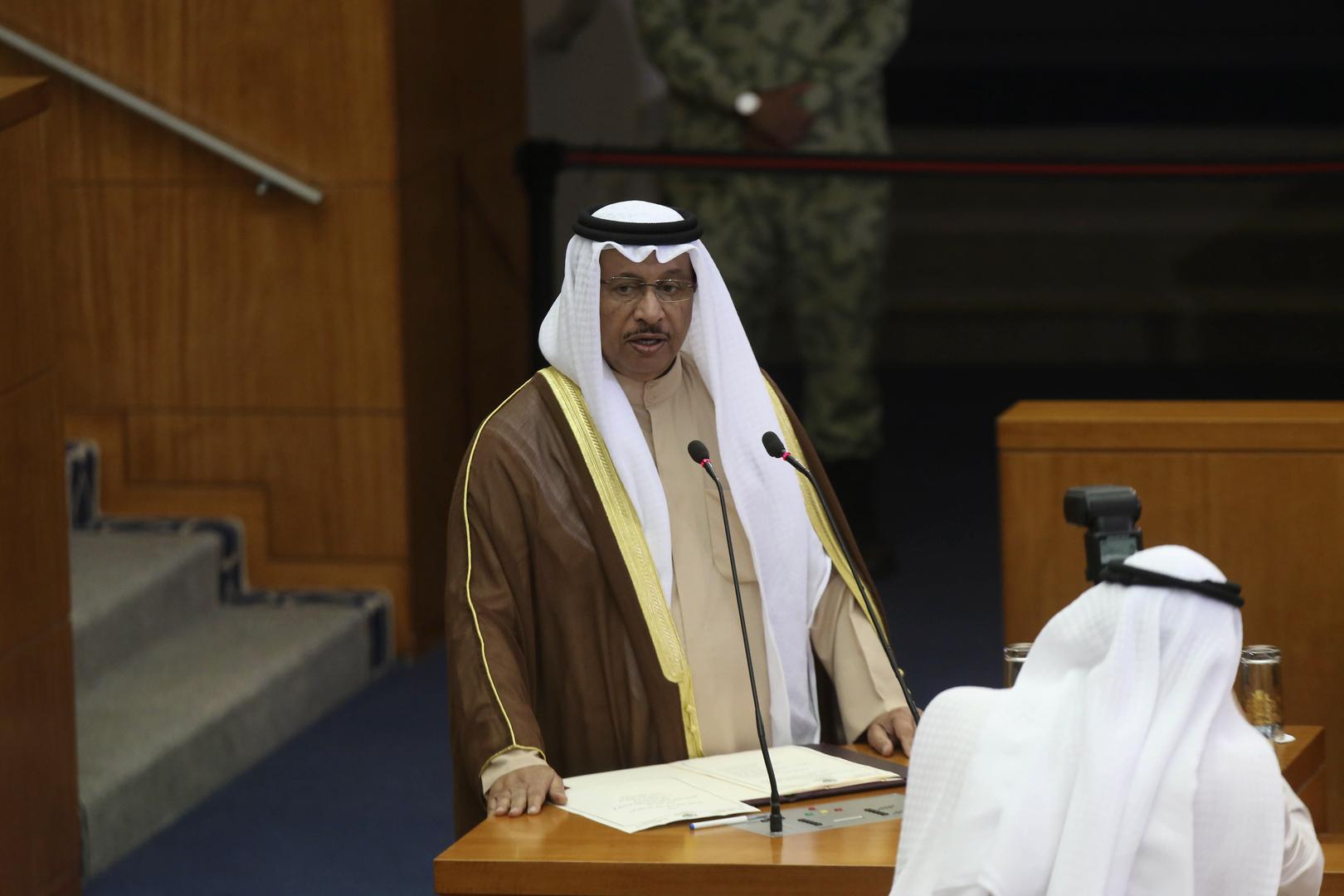 رئيس الوزراء الكويتي السابق الشيخ جابر المبارك