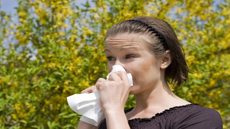 الأعراض الرئيسية للحساسية