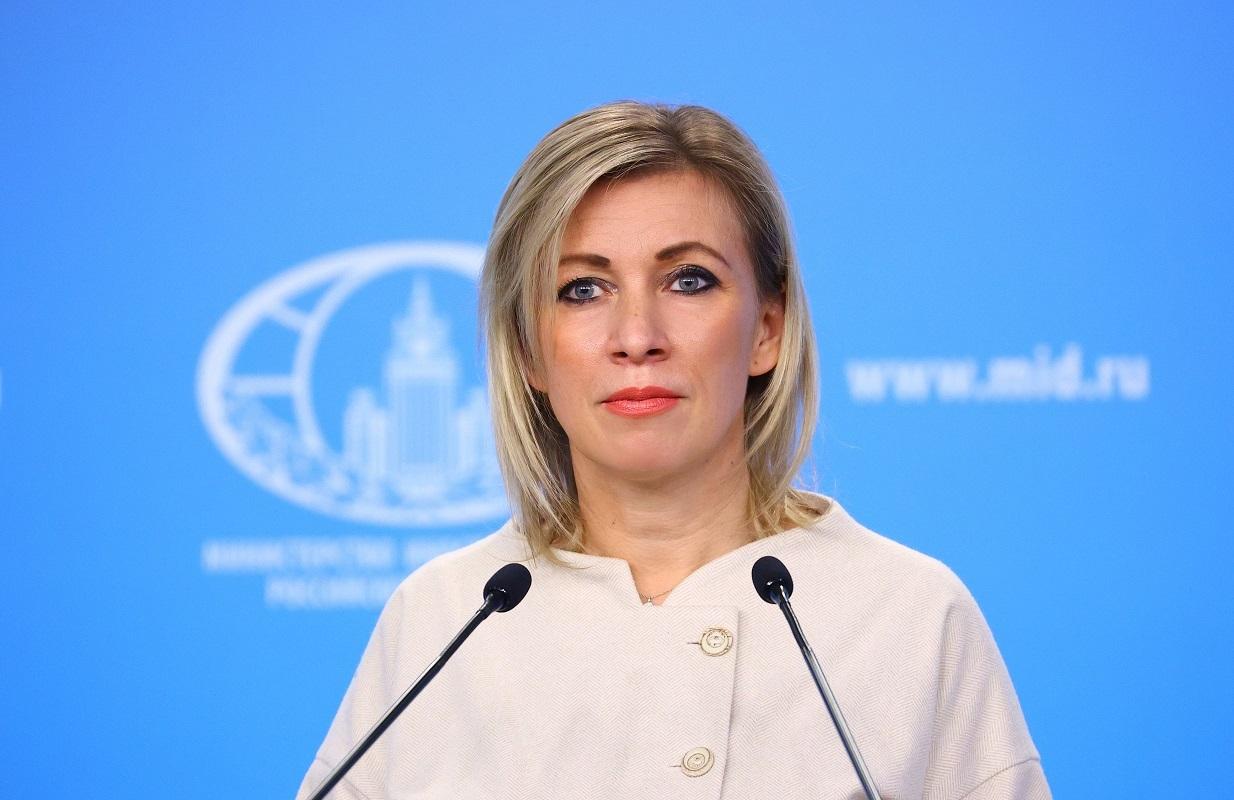 المتحدثو باسم الخارجية الروسية ماريا زاخاروفا