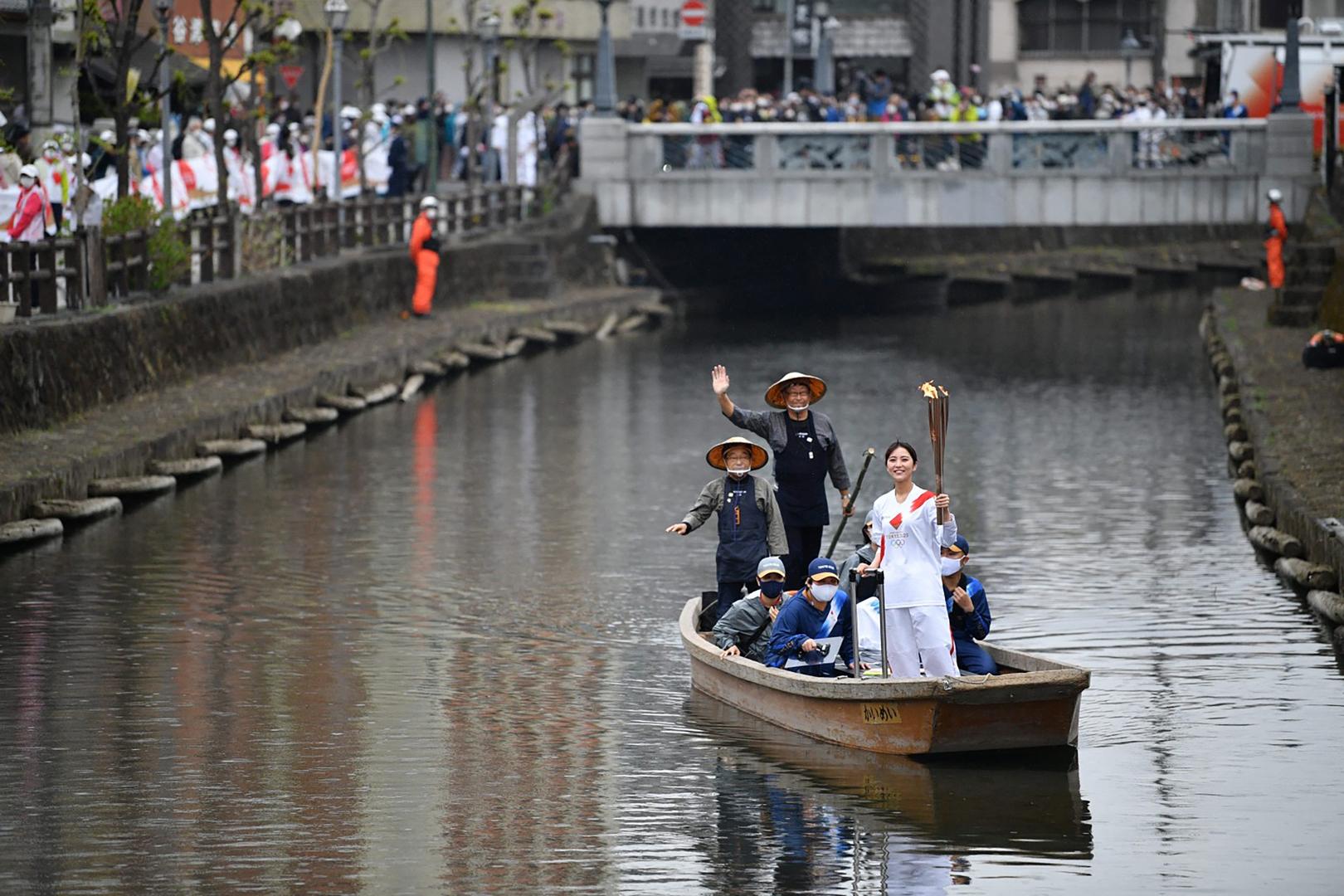 أوساكا تطلب إلغاء مسيرة الشعلة الأولمبية في شوارعها