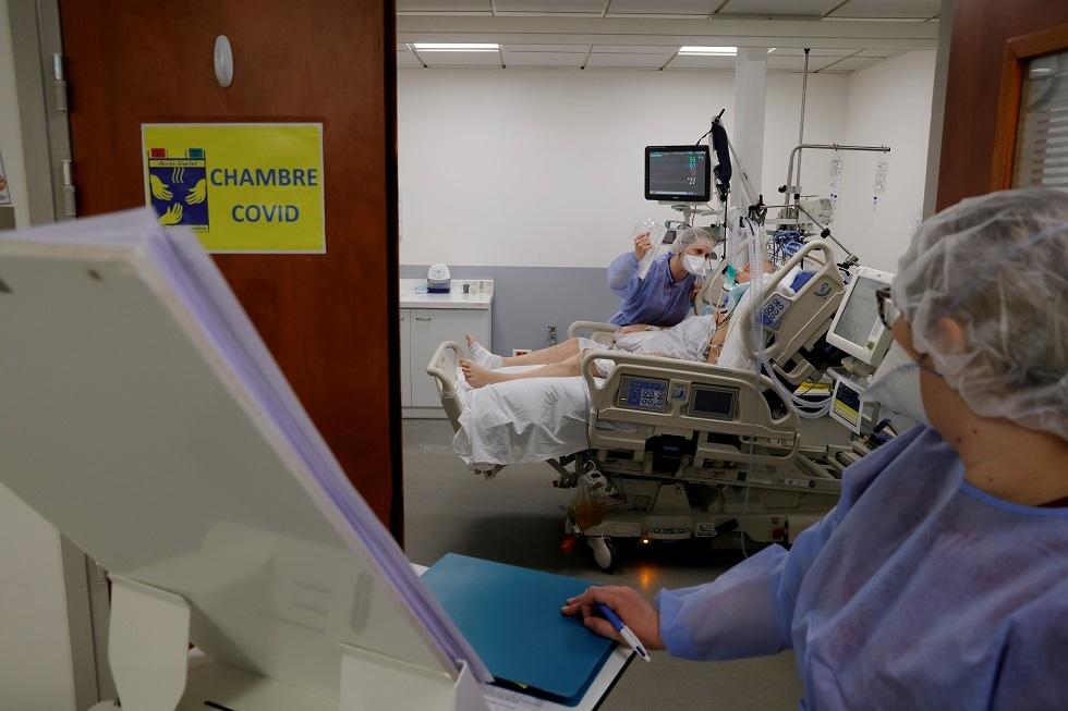 وحدات العناية المركزة في المستشفيات الفرنسية