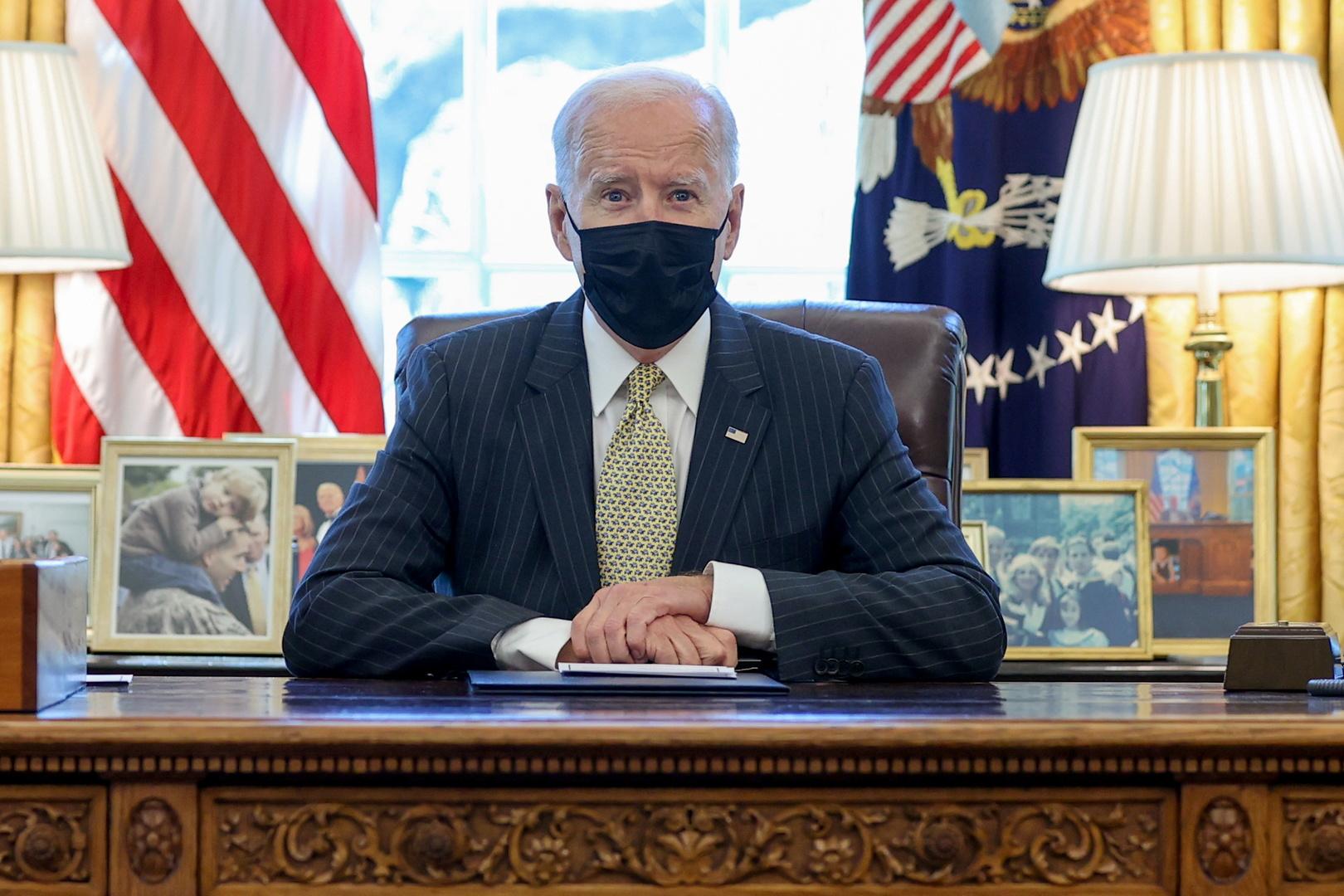 واشنطن: بايدن يبحث في استئناف بناء الجدار الحدودي الجنوبي