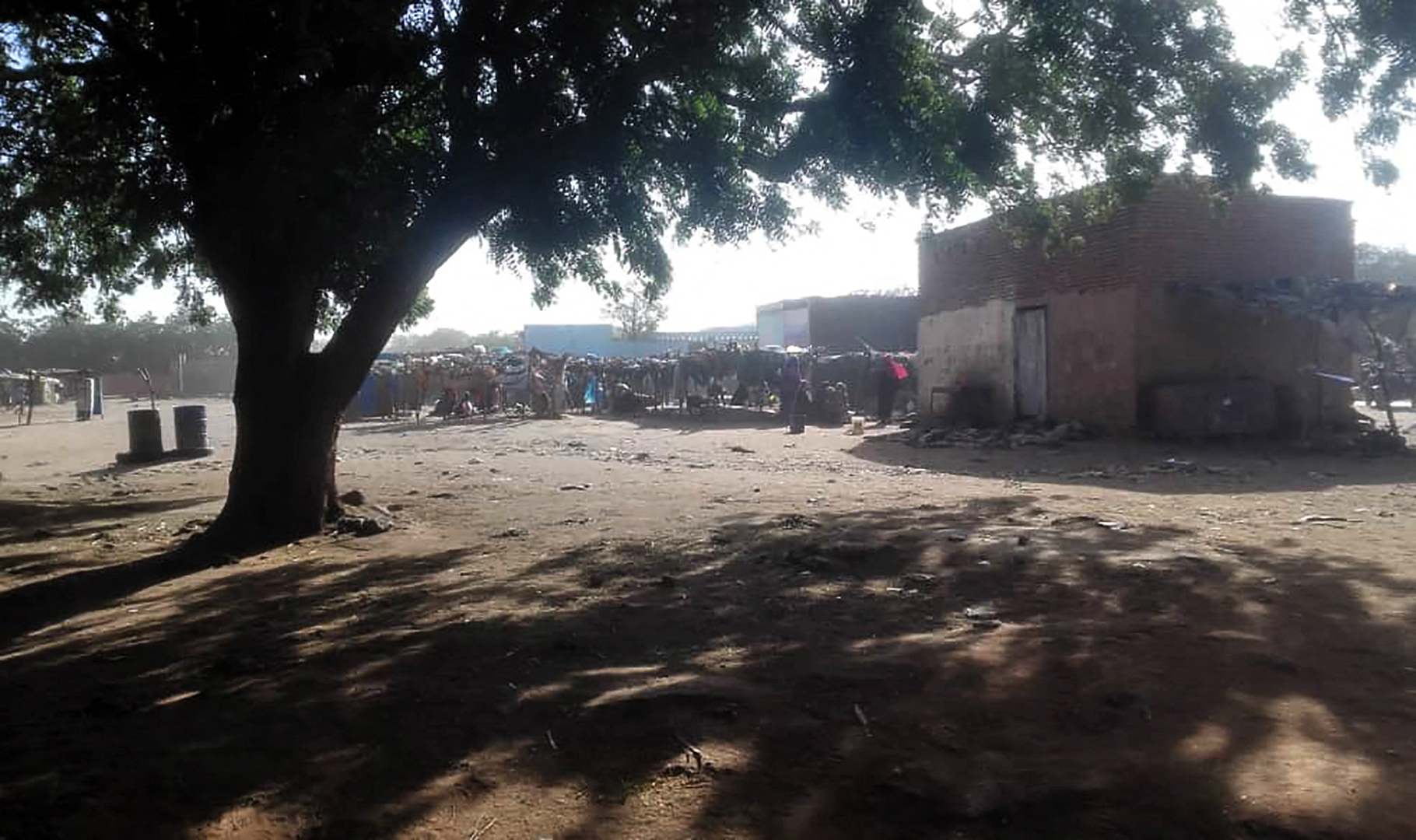 مدينة الجنينة في غرب دارفور (صورة من الأرشيف)