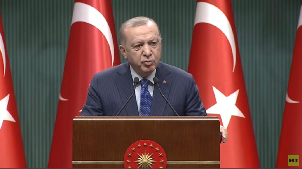 أردوغان: بيان الضباط يتضمن تلميحات انقلابية