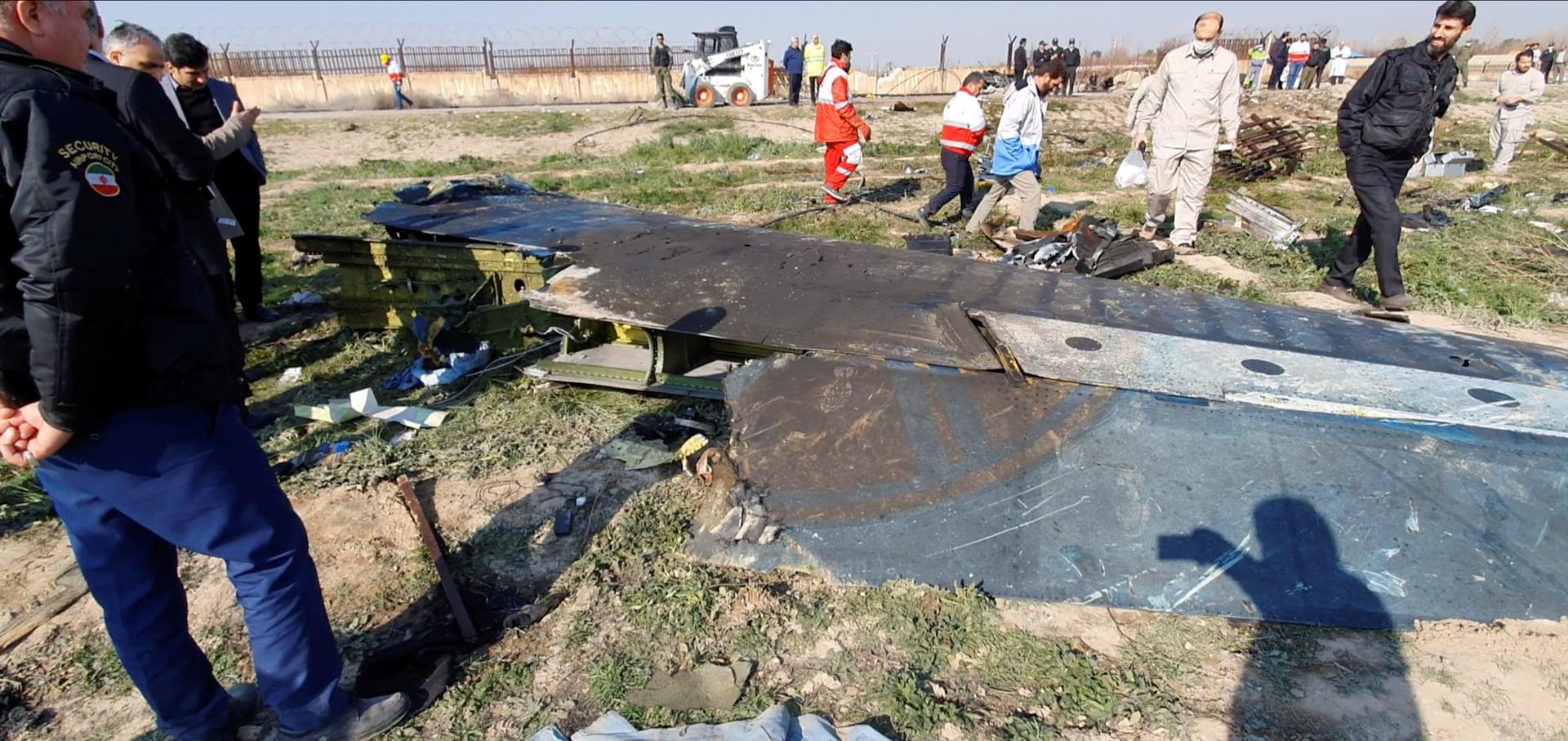إيران توجه اتهامات إلى 10 مسؤولين بشأن إسقاط الطائرة الأوكرانية