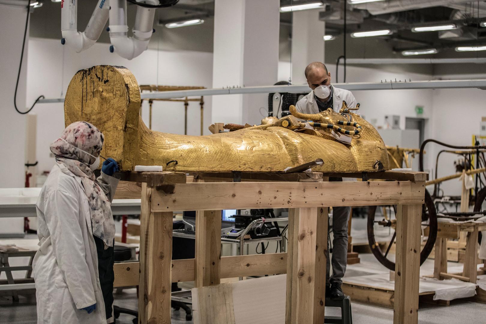 عالمة روسية تشرح سبب عدم نقل العلماء لمومياء توت عنخ آمون إلى المتحف