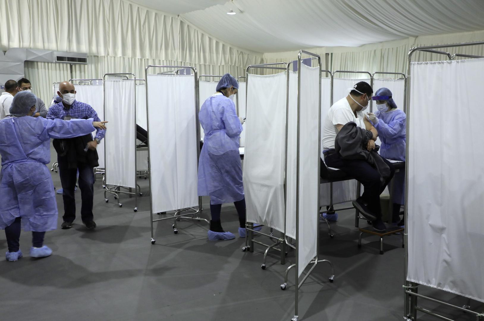 التطعيم ضد فيروس كورونا في لبنان