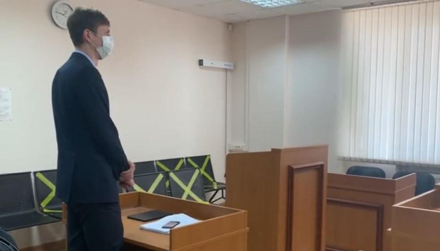 النطق بقرار محكمة في موسكو بشأن تغريم شركة