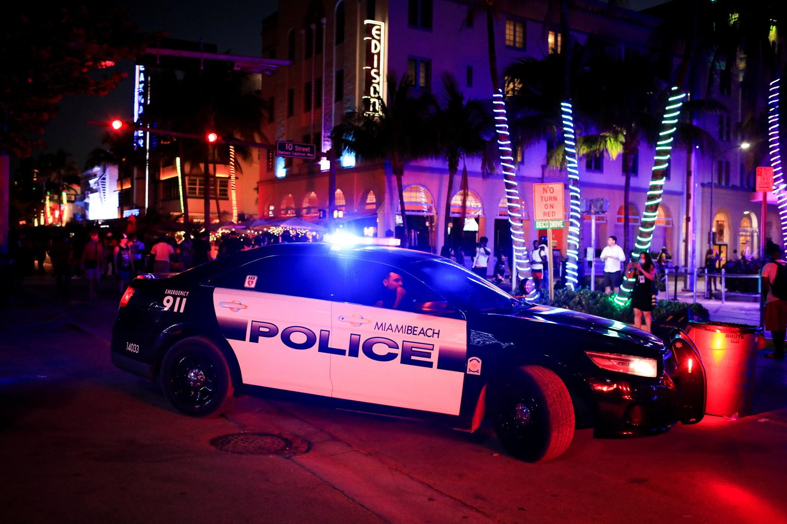 سيارة تابعة للشرطة الأمريكية
