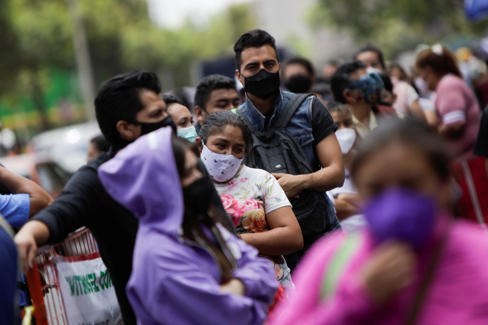 المكسيك تسجل أكثر من 600 وفاة جديدة بفيروس كورونا