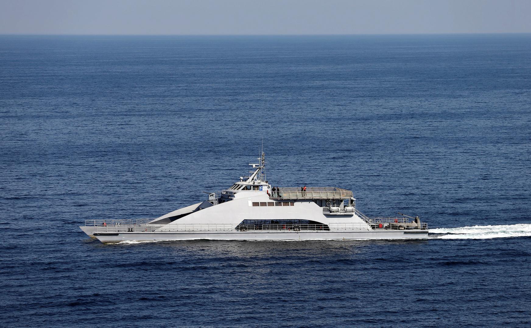 سفينة تابعة للحرس الثوري الإيراني (أرشيف).