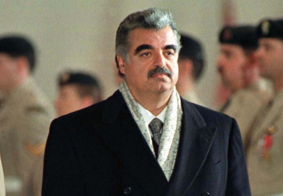 رئيس الوزراء اللبناني الأسبق رفيق الحريري