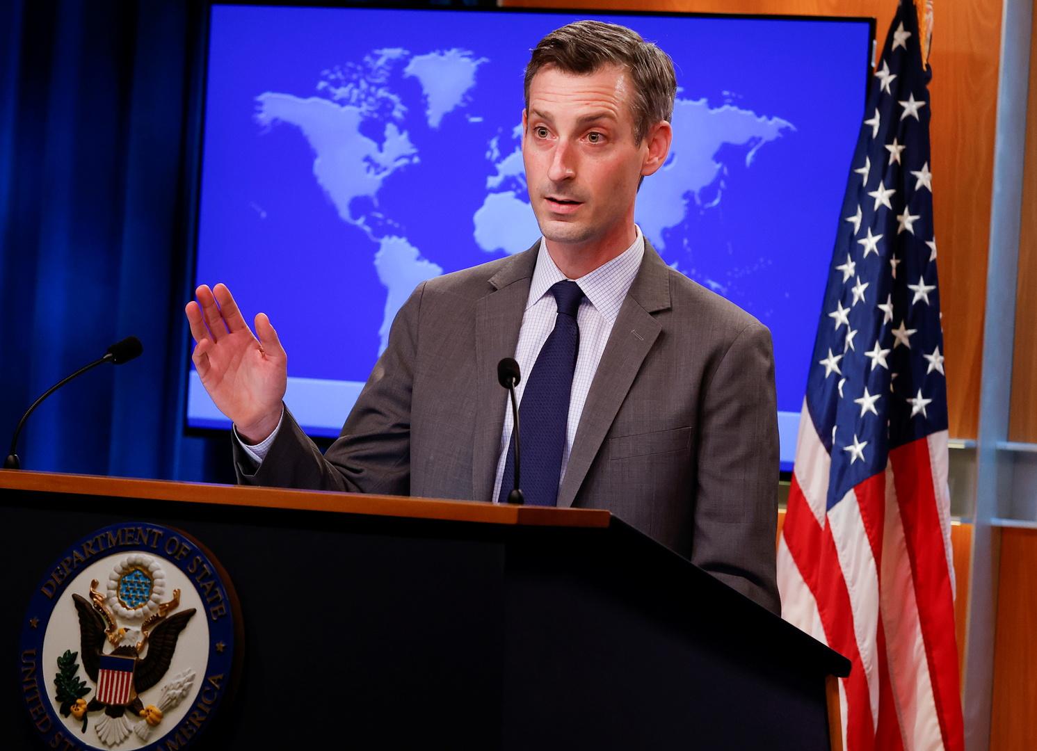 المتحدث باسم الخارجية الأمريكية نيد برايس