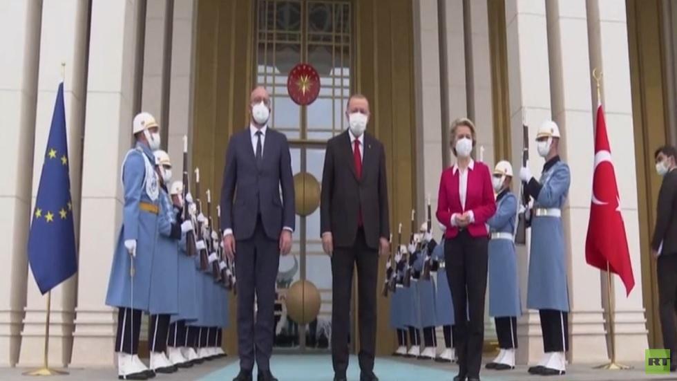وفد أوروبي رفيع المستوى في أنقرة