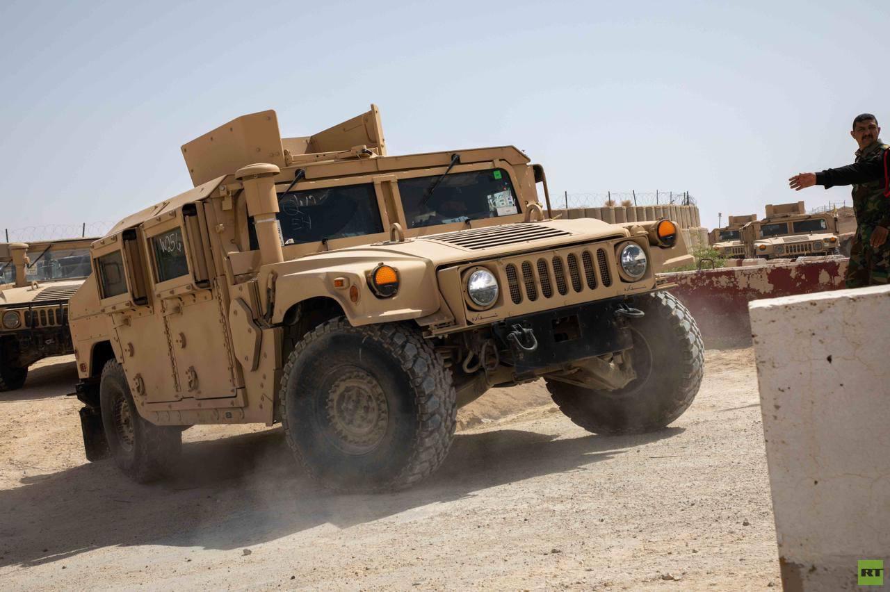 القوات العراقية تتسلم معدات من التحالف الدولي بـ 18 مليون دولار (صور)