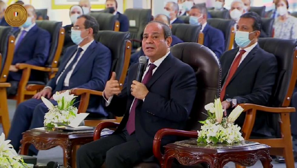 السيسي: ننسق مع السودان حول سد النهضة
