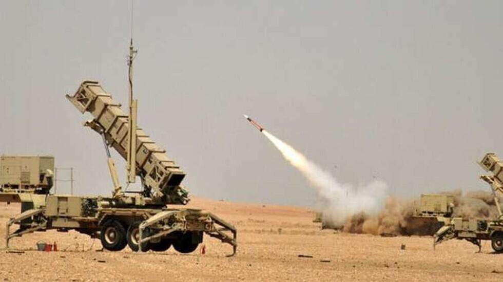 إطلاق نار من منظومة دفاع جوي للقوات السعودية.