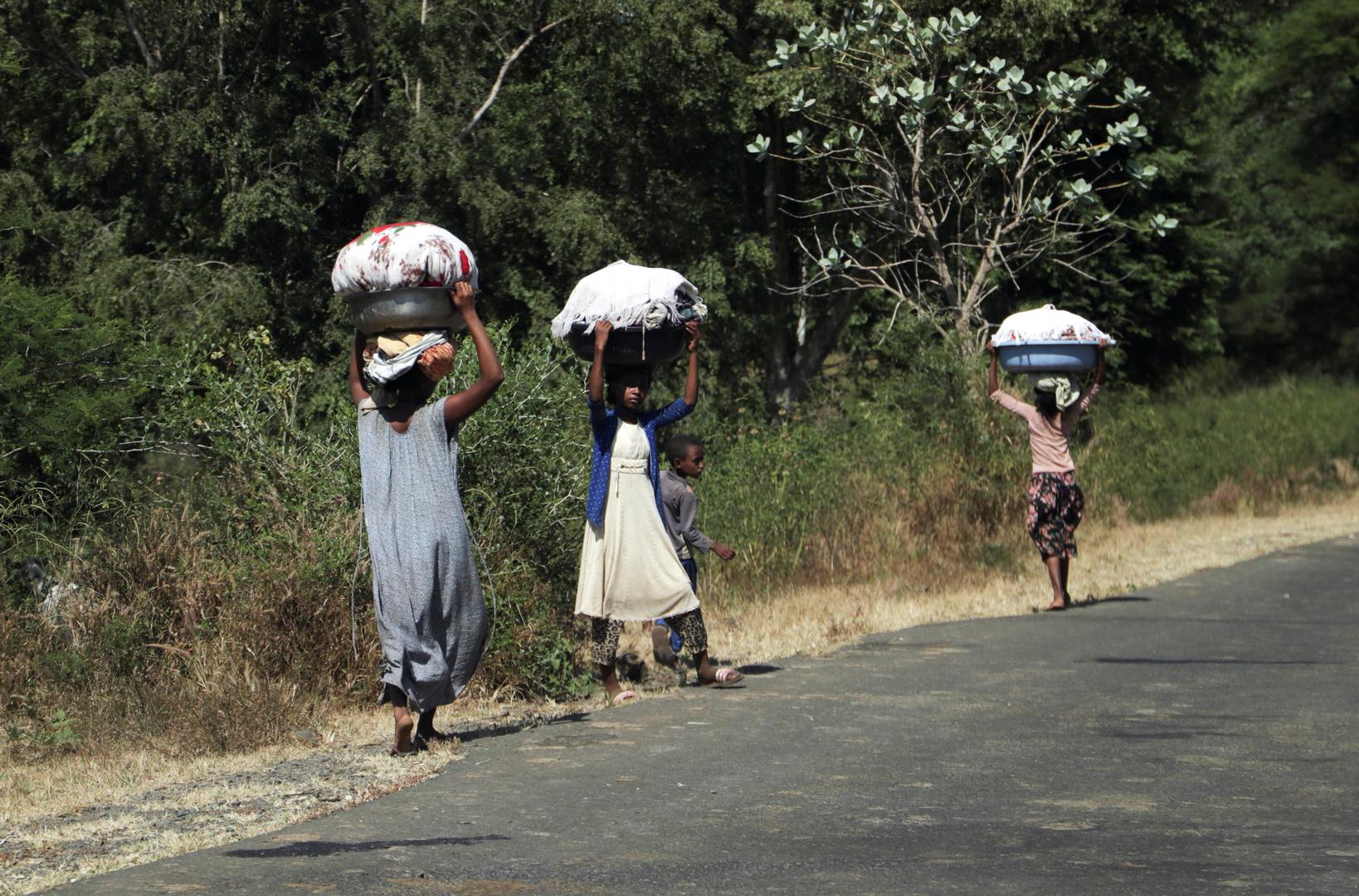 ارتفاع عدد اللاجئين الإثيوبيين بالسودان