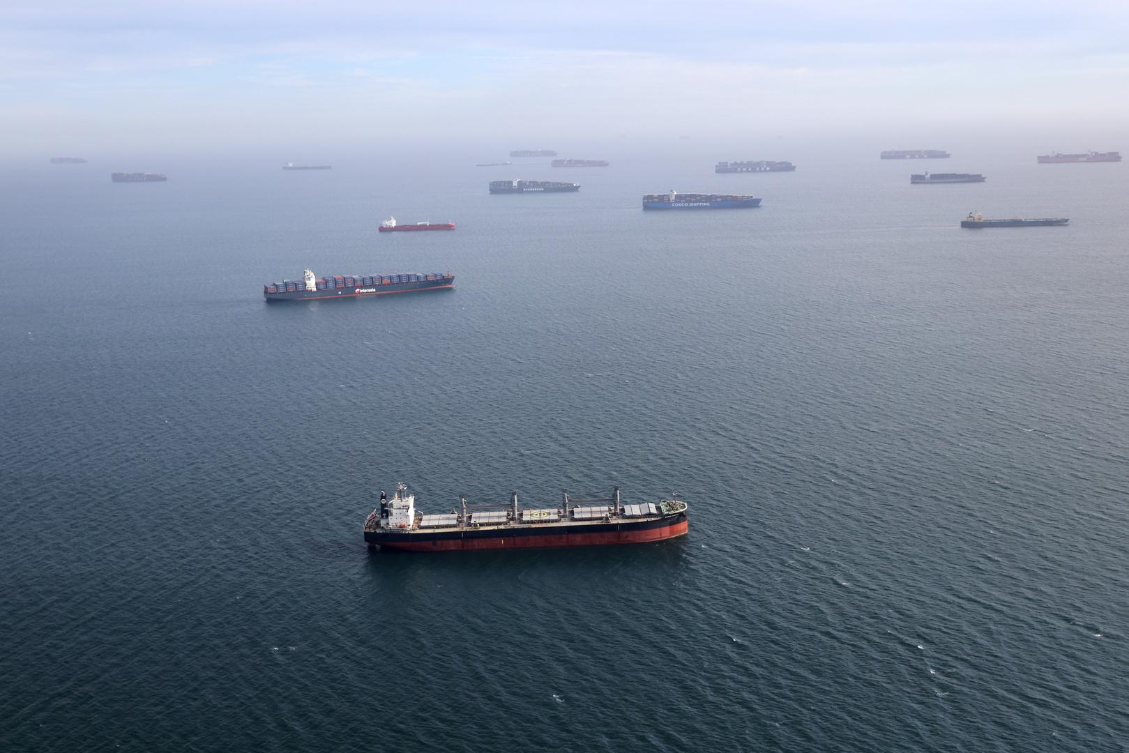 بالفيديو.. تصادم ناقلة نفط وسفينة شحن قبالة الفلبين